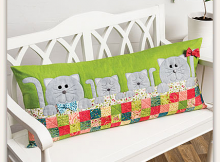 Purrfectly Comfy Pillow Pattern