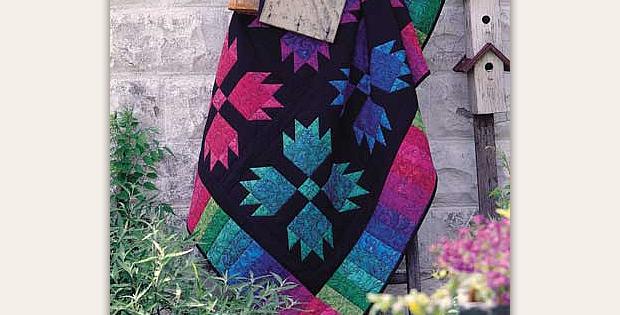Bear Paw Jewels Quilt Pattern
