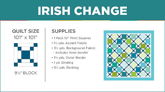 Irish Change Quilt Pattern