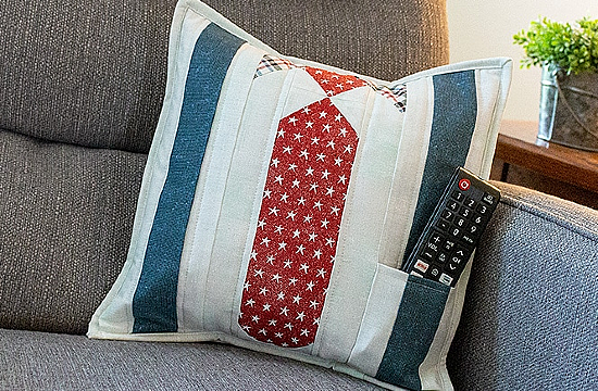 Well Suited Pillow Tutorial