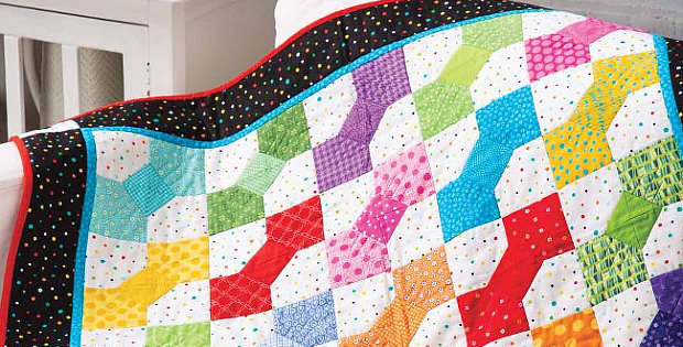 Bodacious Bow Ties Baby Quilt Pattern