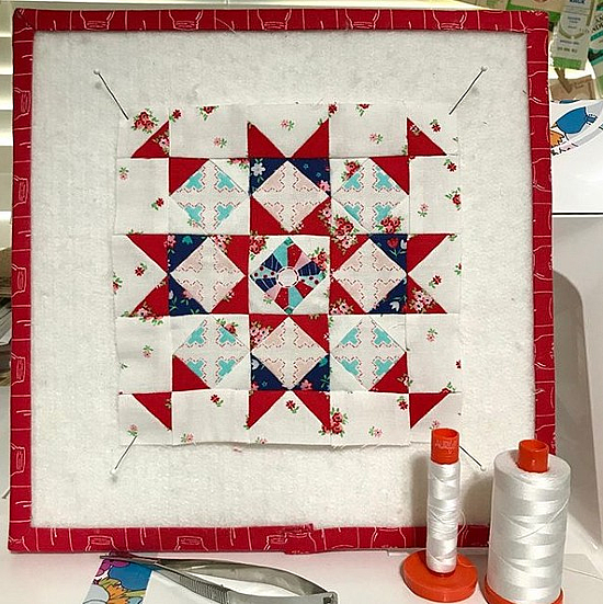 Hampshire Star Block Pattern