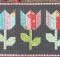 Mini Tulip Market Quilt Pattern