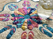 Flip Flop Fun Table Topper Pattern