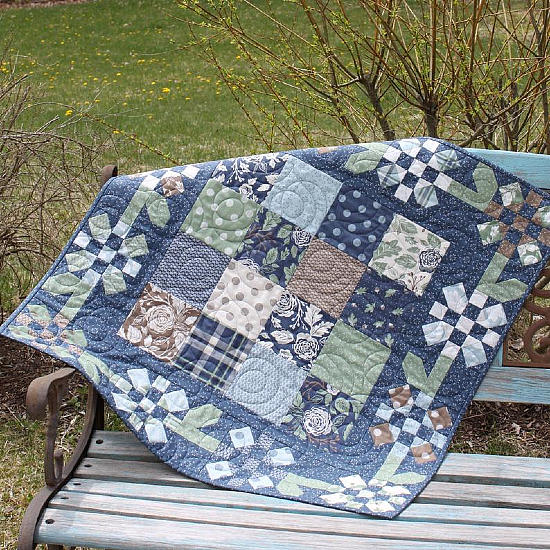 Cottage Garden Quilt Pattern