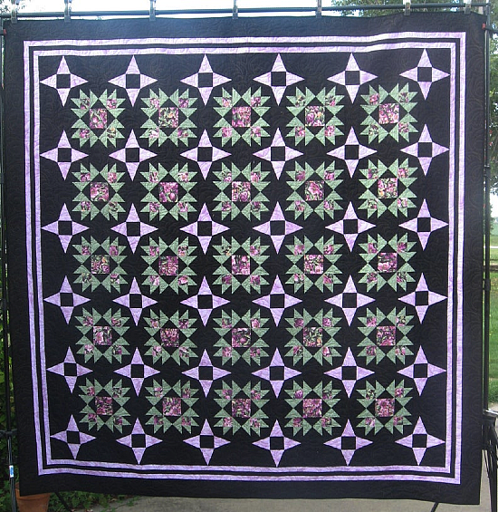 Starry Illusions Quilt Pattern