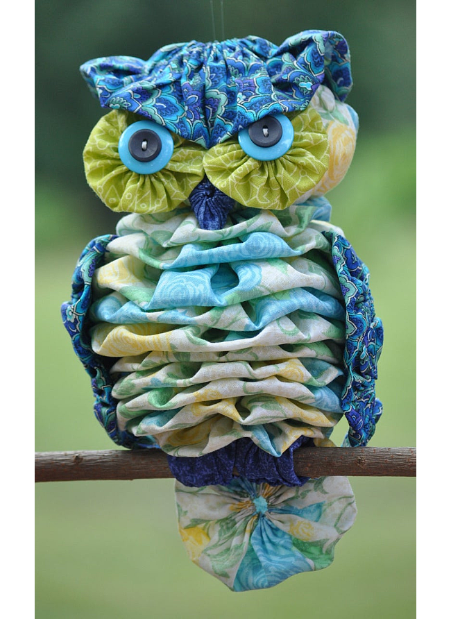 Yo-yo Owl Pattern
