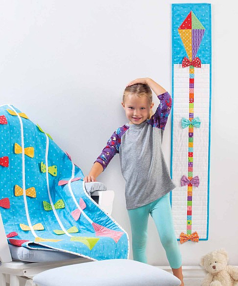 Kite Growth Chart and Quilt Patterns