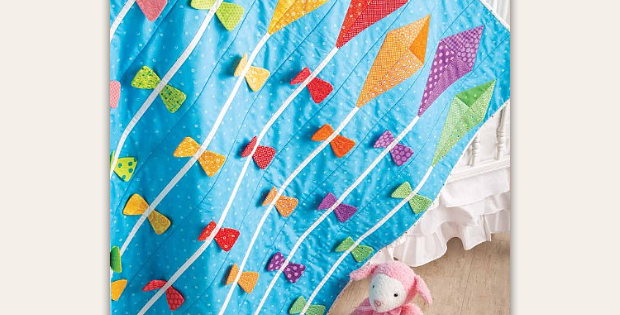 Let's Go Fly a Kite Quilt Pattern