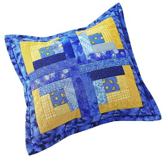 Patchwork Pillow Pair Pattern