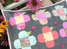 Perky Posies Pillow Pattern