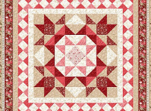 Rhapsody In Reds Quilt Pattern