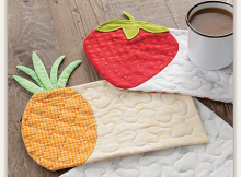 Summer Fruits Mug Rug Pattern