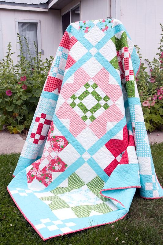 Vintage Picnic Quilt Pattern