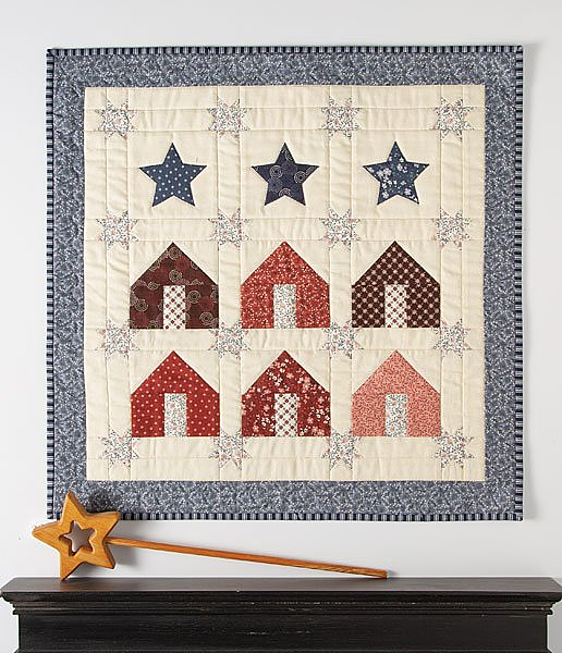 Row Houses Little Quilt Pattern