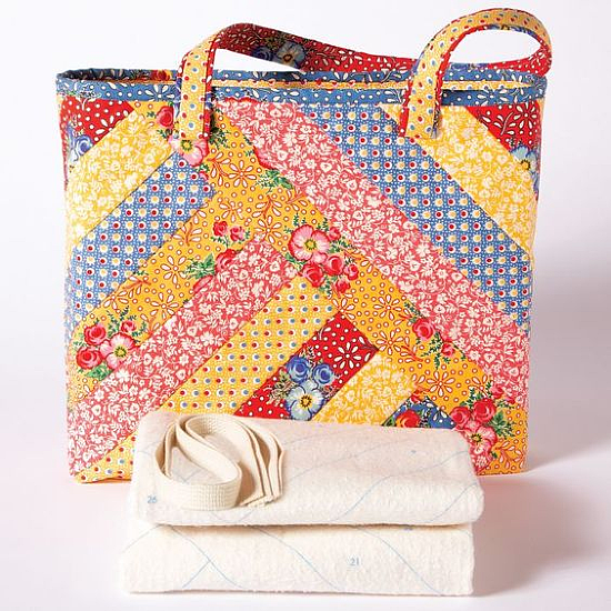 Quilt-As-You-Go Alexandra Tote Bag Pattern