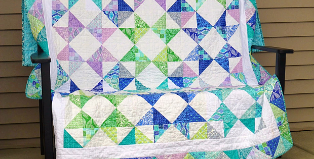 Castles on the Horizon Quilt Pattern