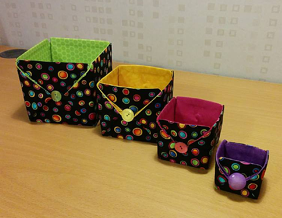 Button Up Boxes Pattern