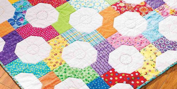 Bow Tie Baby Play Mat Pattern