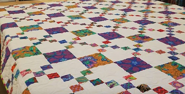 Chain Links Quilt Pattern