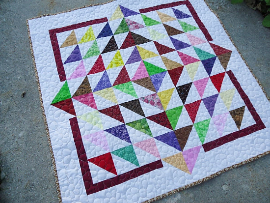 Lily Pad Quilt Tutorial