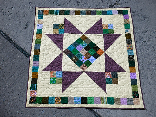 Star Kissed Baby Quilt Tutorial