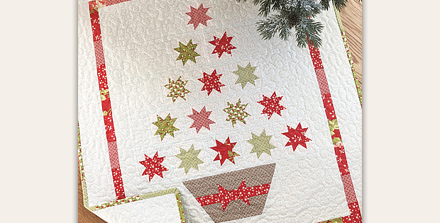 Merry Little Christmas Quilt Pattern