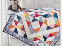 Baby Pinwheels Quilt Pattern