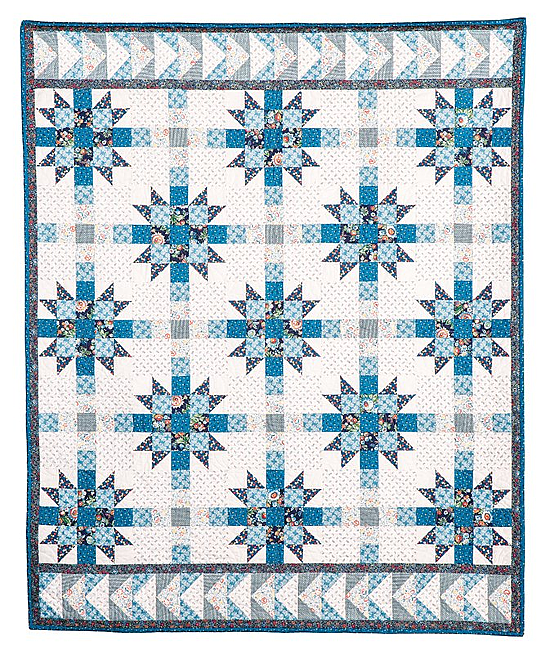 Kindred Blues Quilt Pattern