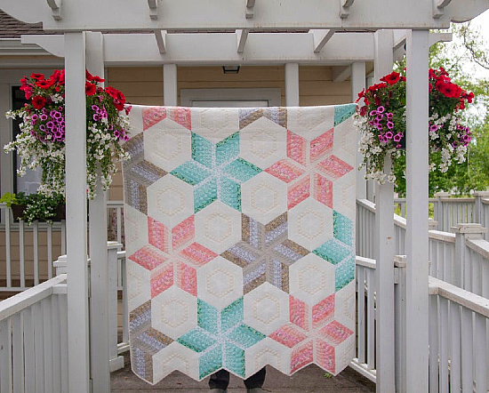 Champagne and Pearls Quilt Pattern
