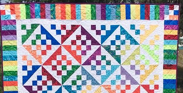 Sunshine and Shadows Quilt Pattern