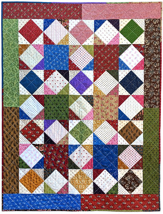 Stars & Diamonds Quilt Pattern