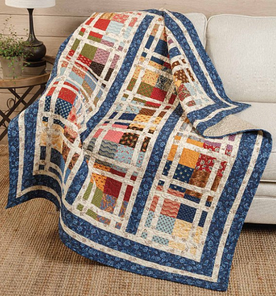 Touch of the Past Quilt Pattern