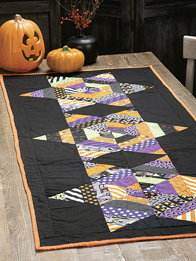 Come Into My Parlor Table Runner Pattern