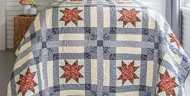 Stars & Plaid Quilt Pattern