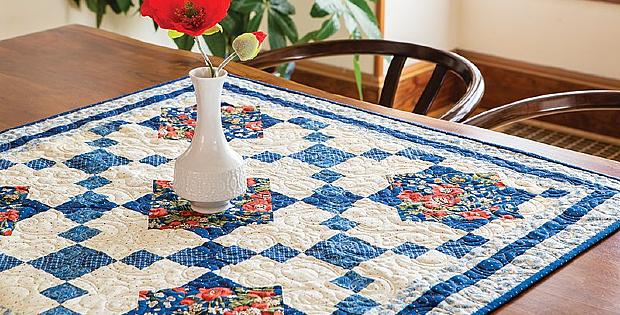 Elle's Flower Garden Quilt Pattern