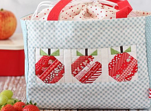 Apple Lunch Tote Pattern
