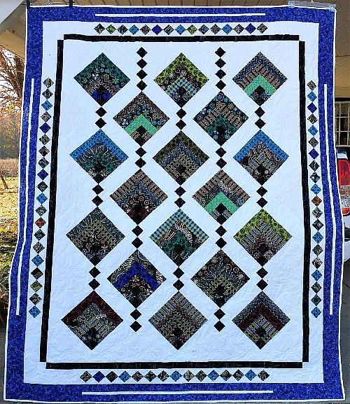 Hanging Gardens Quilt Pattern