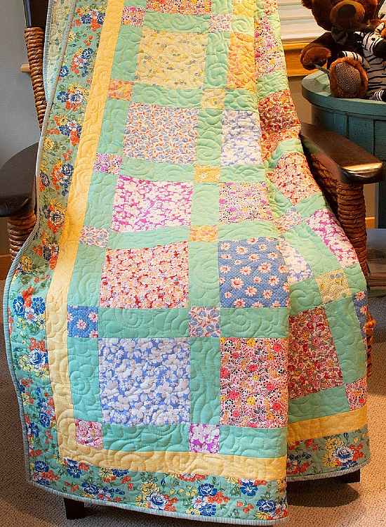Grandma's Porch 30's Reproduction Quilt Pattern