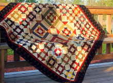 Churn Me Loose Quilt Pattern