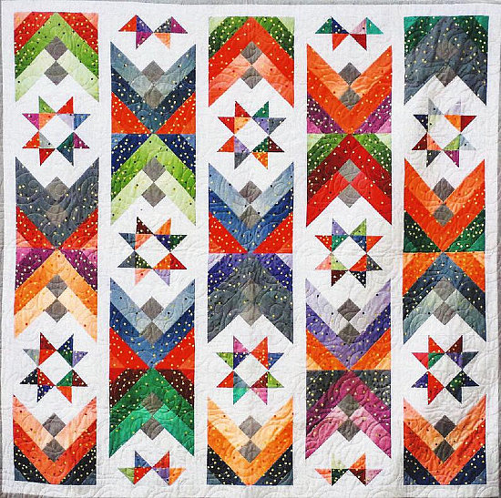 Ombre Stars Quilt Pattern
