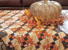 Ghastly Ghost Table Runner Pattern