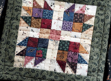"Vintage Patchwork: A Dozen Small Projects from One Bundle of 10"" Squares by Pam Buda"