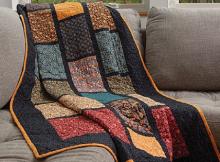 Brick Road Quilt Pattern