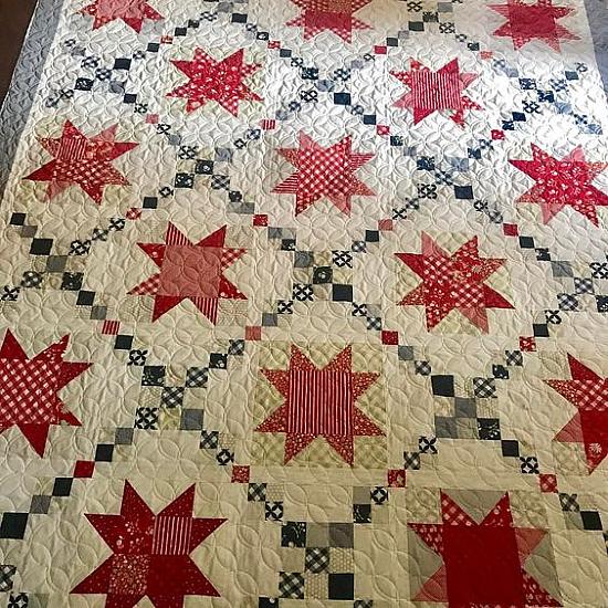 Sugar Pine Stars Quilt Pattern