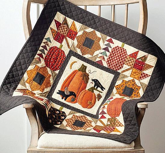 Pumpkin Patch Quilt Pattern