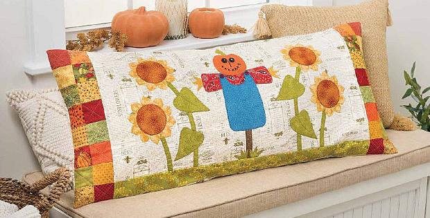 Sunflower Patch Pillow Pattern