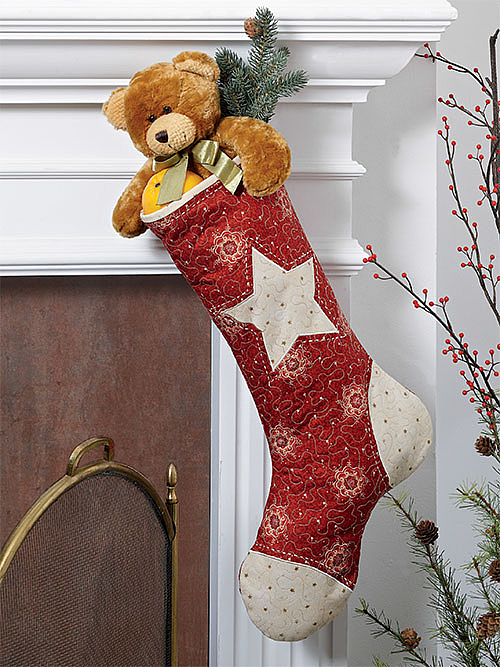 Hung by the Chimney Stocking Pattern