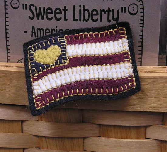 Wool Felt Pin Pattern