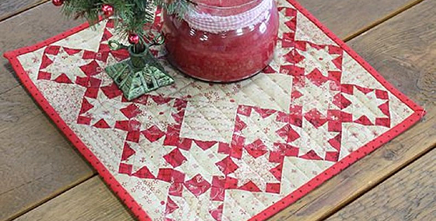 Tiny Dancer Pattern - Red/Cream Version
